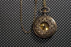 Винтажные карманные часы Стоковое Фото