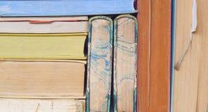 Винтажные книги закрывают вверх Стоковое Фото