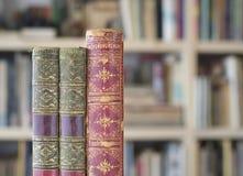 Винтажные книги закрывают вверх Стоковые Фото