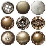 Винтажные кнопки Стоковое Фото