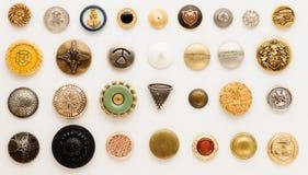 Винтажные кнопки Стоковые Изображения RF
