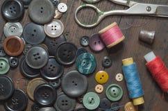 Винтажные кнопки Стоковое Изображение RF