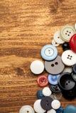 Винтажные кнопки Стоковые Фото