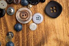 Винтажные кнопки Стоковое Изображение