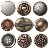 Винтажные кнопки стоковые изображения