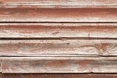 Винтажные красные деревянные планки Стоковые Изображения RF