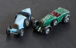 Винтажные модельные автомобили Стоковые Фото