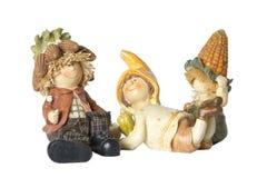 Винтажные немецкие карлики игрушки с мозолью Стоковые Фото