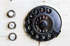 Винтажные номера шкалы телефона Стоковое Изображение