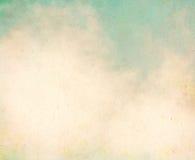Винтажные облака Grunge Стоковая Фотография RF