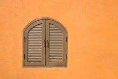 Винтажные окна стоковые изображения rf