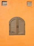 Винтажные окна стоковое фото rf
