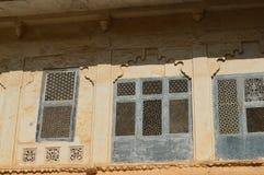Винтажные окна Стоковое Изображение