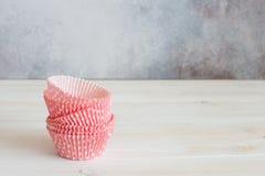 Винтажные олов бумаги булочки стоковое фото rf