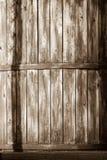 Винтажные доски текстуры старого деревянного бочонка Стоковая Фотография