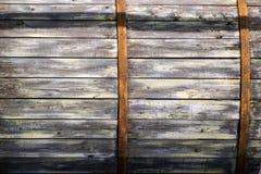 Винтажные доски текстуры старого деревянного бочонка Стоковая Фотография RF