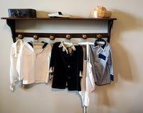 Винтажные одежды ребенка стоковая фотография rf