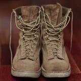 Винтажные пешие ботинки Стоковые Фото
