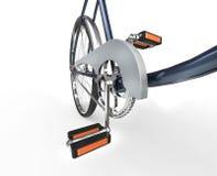 Винтажные педали велосипеда Стоковое Фото