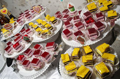 Винтажные пирожные weding Стоковые Фотографии RF