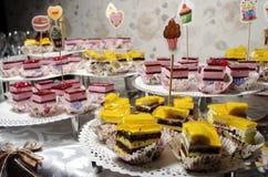 Винтажные пирожные weding Стоковое Изображение