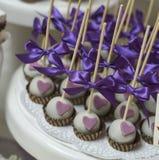 Винтажные пирожные weding Стоковая Фотография