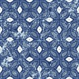 Винтажные плитки с геометрическим орнаментом Стоковые Фото