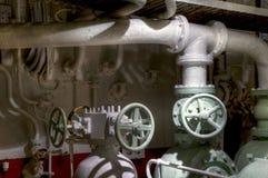 Винтажные предохранительные клапаны Стоковое Фото