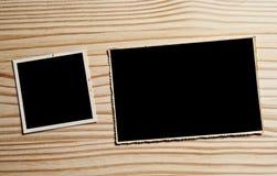 Винтажные пустые фотоснимки стоковое фото