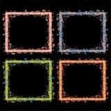 Винтажные рамки с орнаментами Стоковое Изображение