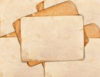 Винтажные рамки фото Стоковое Изображение