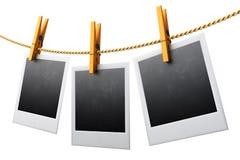 Винтажные рамки фото Стоковая Фотография RF