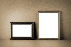 Винтажные рамки фото Стоковое Изображение RF