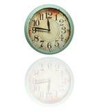 Винтажные ретро часы Стоковое фото RF
