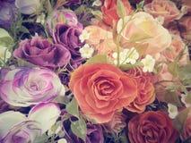 Винтажные розы Стоковая Фотография