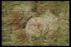 Винтажные розы Стоковое Фото
