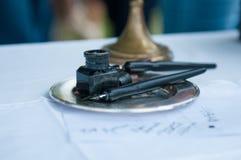Винтажные ручки Стоковое Фото