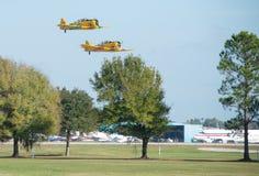 Винтажные самолеты стоковое изображение