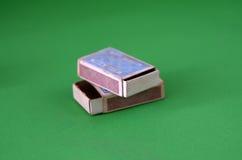 Винтажные старые Matchboxes Стоковые Фото