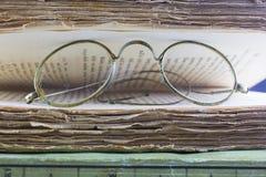 Винтажные стекла стоковое изображение rf