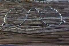 Винтажные стекла стоковые фото