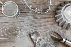 Винтажные утвари кухни Стоковое Фото