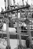 Винтажные шлюпки состыкованы на фестивале шлюпки Виктории классическом Стоковые Фотографии RF