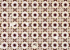 Винтажные azulejos, традиционные португальские плитки Стоковое фото RF