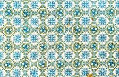 Винтажные azulejos, традиционные португальские плитки стоковые фотографии rf
