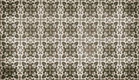 Винтажные azulejos, традиционные португальские плитки Стоковая Фотография