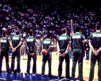 Винтажные Celtics Бостона Стоковое Фото