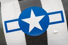 Винтажные insignia Военно-воздушных сил США Стоковое Изображение RF