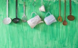 Винтажные utenslis кухни Стоковое фото RF