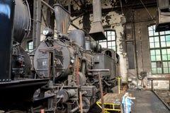 Винтажный австрийский локомотив пара 97 Стоковое Изображение RF